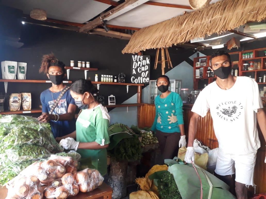 Akses Pasar Terbatas, Desa Detusoko Barat Kembangkan Inovasi 'Dapur Kita'