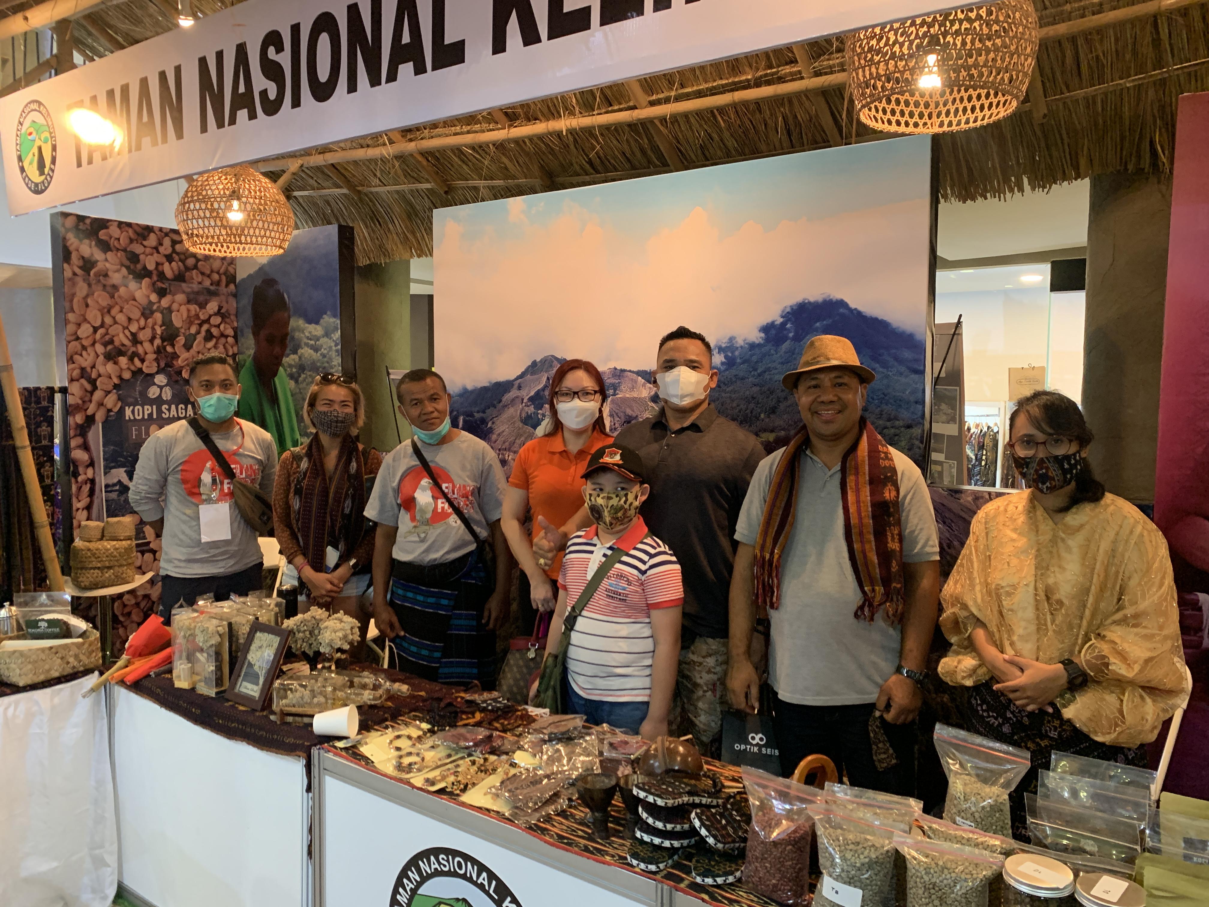 ''Secangkir Kopi Sejuta Makna'' Pameran UMKM dan Benchmarking Kemitraan Lingkungan di Bali