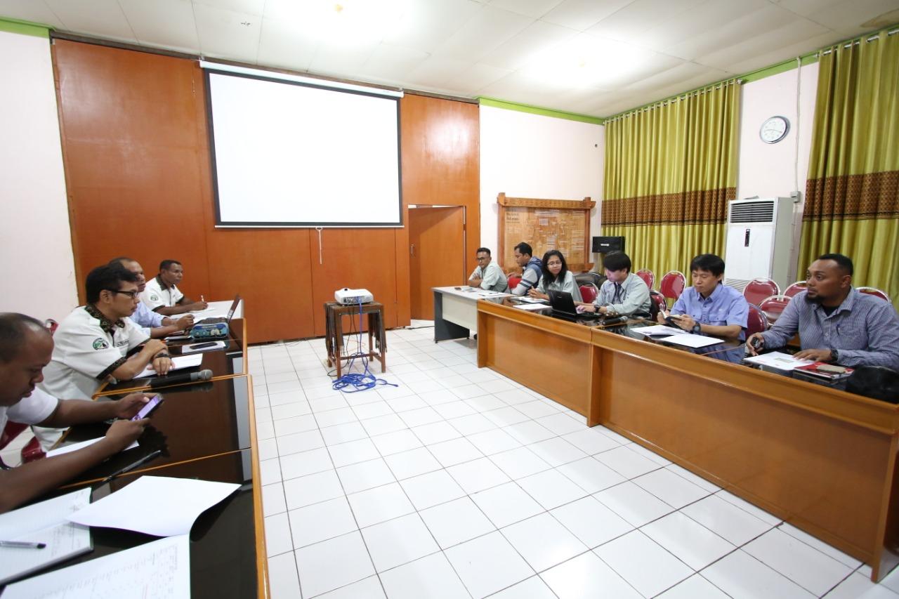 Evaluasi Bulanan JICH dan Balai TN Kelimutu