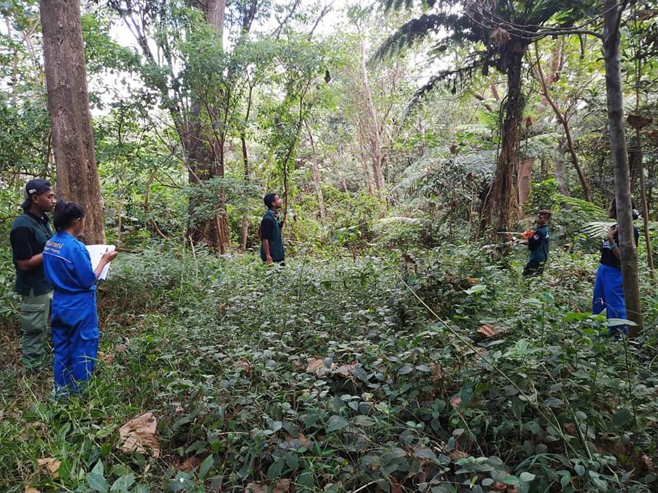 Praktek Pengenalan Ekosistem Hutan (PPEH) Politani Negeri Kupang di TN Kelimutu