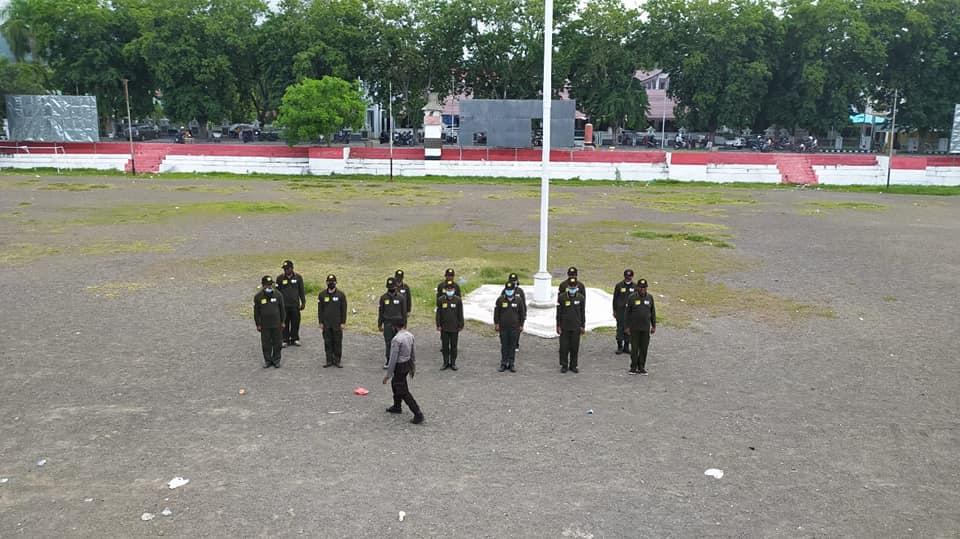 Pembinaan Polisi Kehutanan Balai Taman Nasional Kelimutu