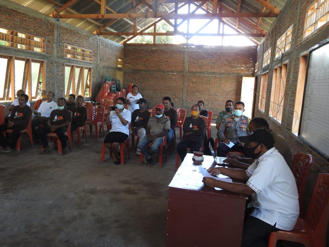 Kegiatan Pemberdayaan Kelompok masyarakat Peduli Elang Flores Jatabara