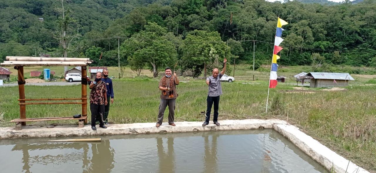 Pemberdayaan Desa Wologai  Gapelta Fishinh Pool and Rest Area
