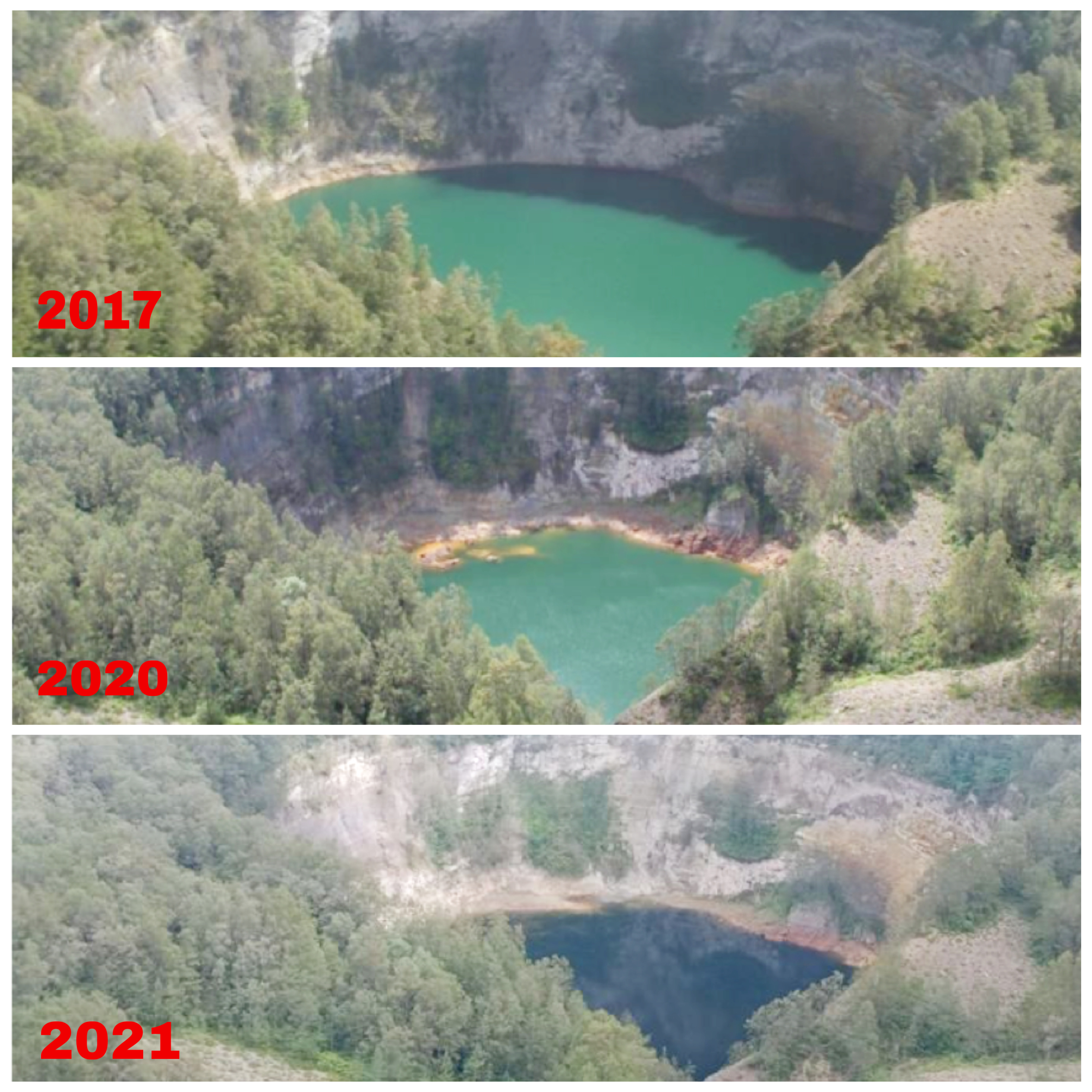 Kembali Naiknya Permukaan Air Danau Ata Mbupu Taman Nasional Kelimutu